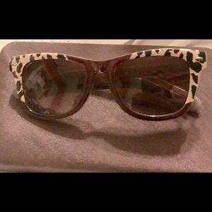 Betsey Johnson animal print sunglasses